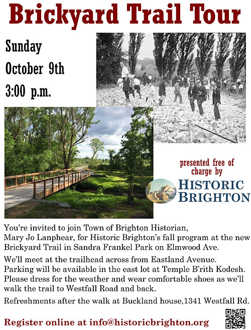 Brickyard Trail Tour by Historic Brighton