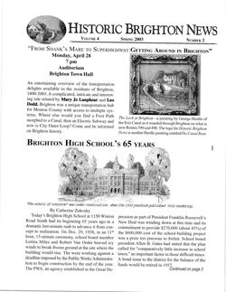 Volume 4 Number 2 Spring 2003