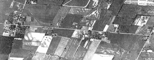 1930 Aerial View of Buckland Farm