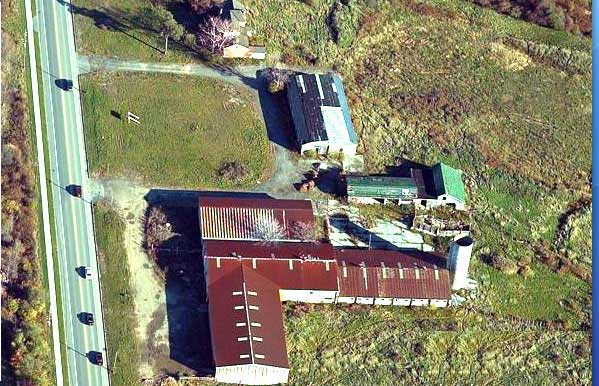 2000 Aerial View of West Farm