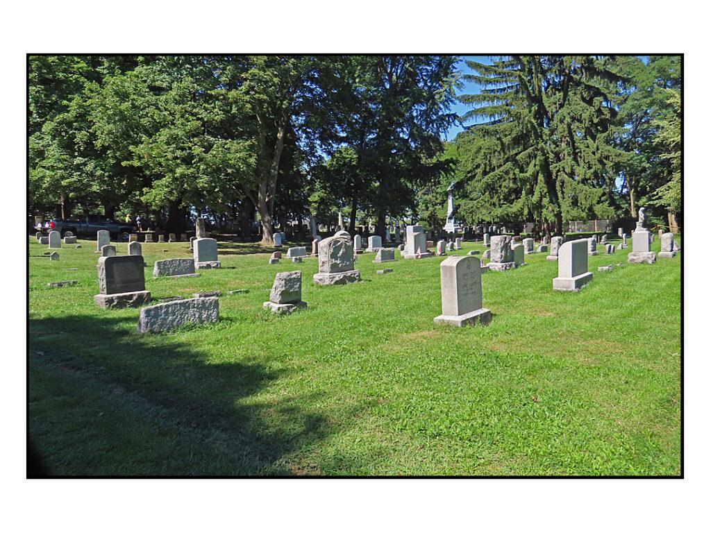 photo of Brighton Cemetery in 2020