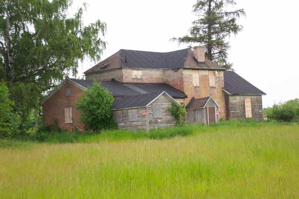Farmhouse on Westfall Road in Brighton, New York