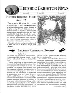 Volume 1 Number 4 Spring 2001