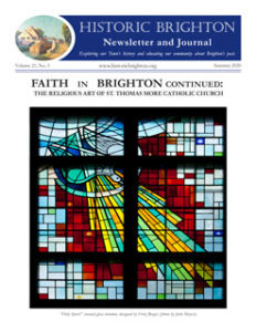 Cover image, Historic Brighton newsletter, Vol. 21, Number 3