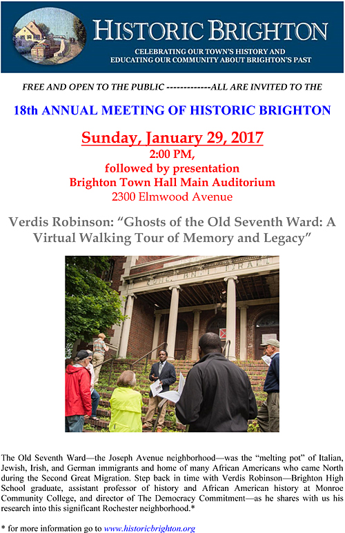 Historic Brighton Annual Meeting 2017