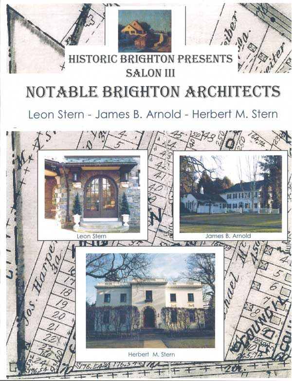 Notable Brighton Architects publication - front cover image