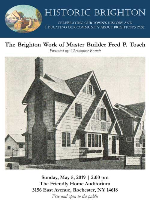 The Brighton Work of Master Builder Fred P. Tosch - poser