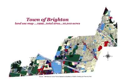 Map of Historic Brighton
