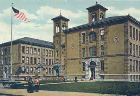 image of East High School, Rochester