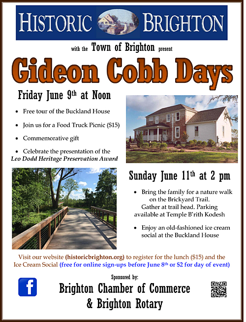 Gideon Cobb Days poster